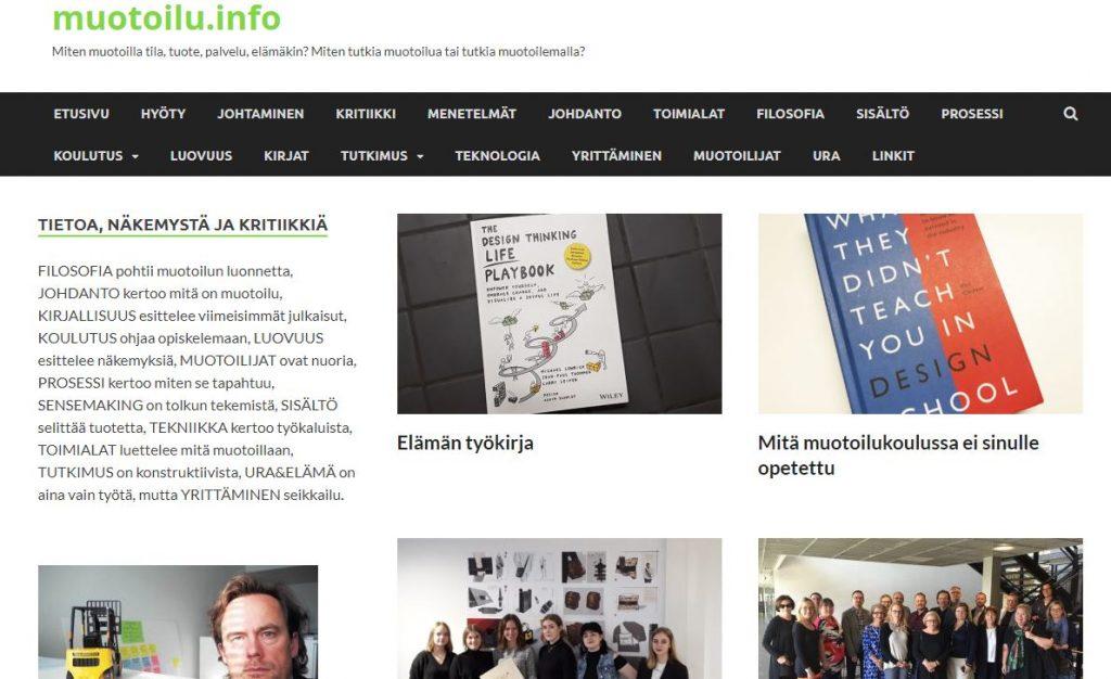 linkki muotoilu.info sivustolle